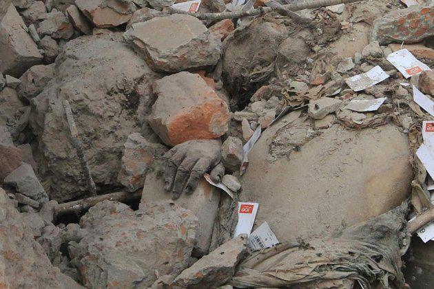 Руины Рана Плаза