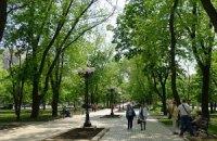 Попов открывает в Дарницком районе четыре новых сквера
