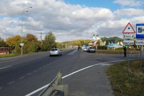 В Киеве камеры за 8 минут зафиксировали 262 случая превышения скорости