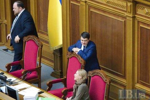 Рада закрила останнє засідання другої сесії, наступне - 4 лютого