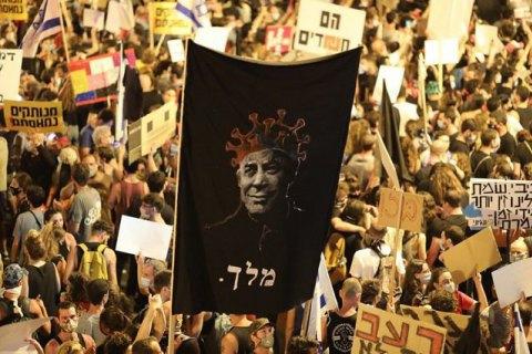 В Израиле не утихают протесты против Нетаньяху