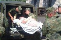 На Донбасі український військовий отримав бойову травму