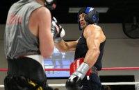 Кличко продолжает подготовку к бою с Дженнингсом