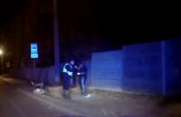 В центре Сум пьяный иностранец без прав ехал почти 200 км/ч, пытаясь скрыться от патрульных