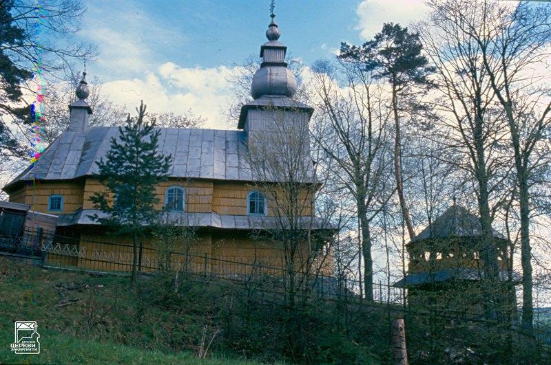 Церква в селі Нова Розтока (1892) – зразок «воловецького бароко». Згоріла у 1999.