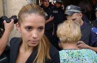 Дочь Тимошенко: маму зверски бросили в автозак