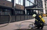 В Одесі горів готель, постраждалих немає