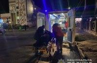 У Житомирі водій, втікаючи від поліції, вчинив ДТП, а потім підірвався на гранаті