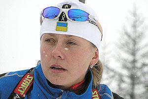 Украинская биатлонистка дисквалифицирована за применение допинга
