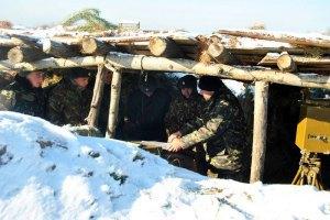 За день бойовики дев'ять разів обстріляли позиції сил АТО на Донбасі