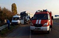 Группа школьников из Ракитного попала в ДТП по дороге из Умани