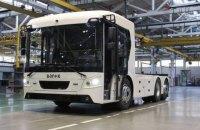 У Луцьку представили першу українську електровантажівку