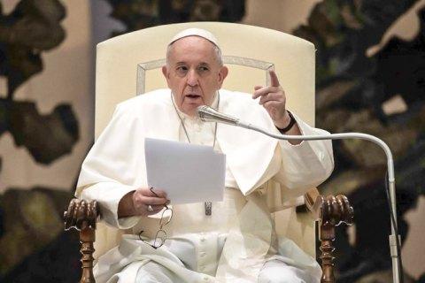 Папа Франциск застеріг від повторення трагедії Голокосту