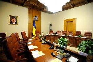 Кабмин проводит заседание по одобрению газового соглашения