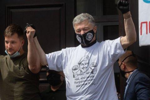 Суд відпустив під особисте зобов'язання депутатів ветерана АТО, затриманого на акції проти Волошина