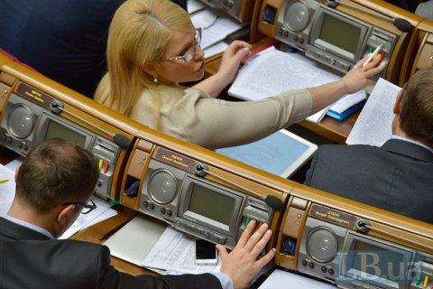 Рада відмовилася створити ТСК з питань офшорів
