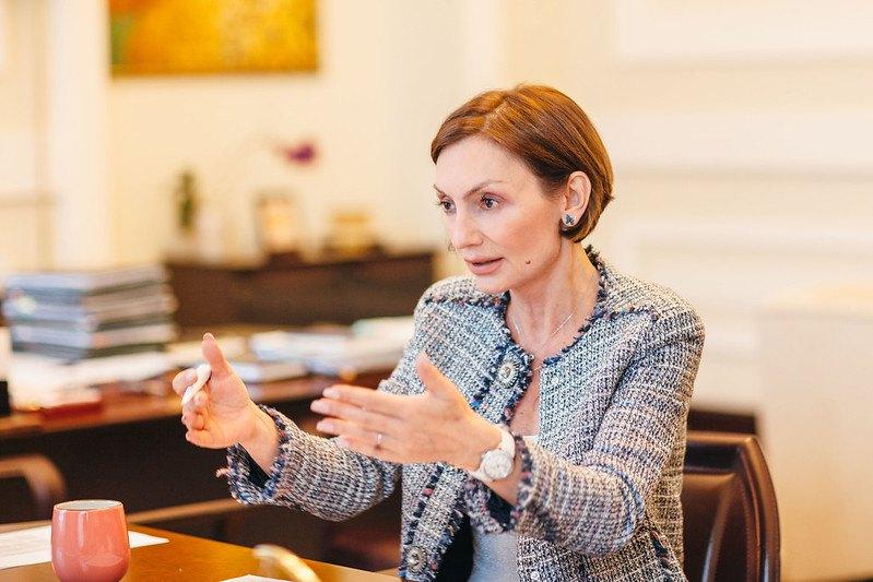 Перший заступник голови НБУ Катерина Рожкова