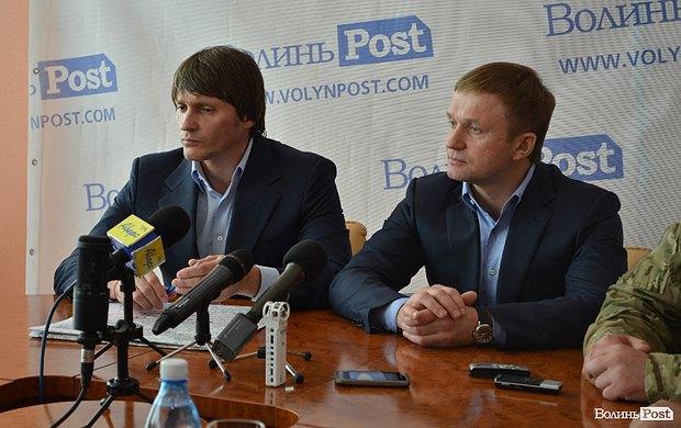 Єрємеєв(ліворуч) та Івахів