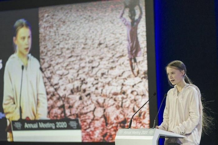 Активистка Грета Тунберг критикует лидеров стран за пассивность в борьбе с климатическими изменениями