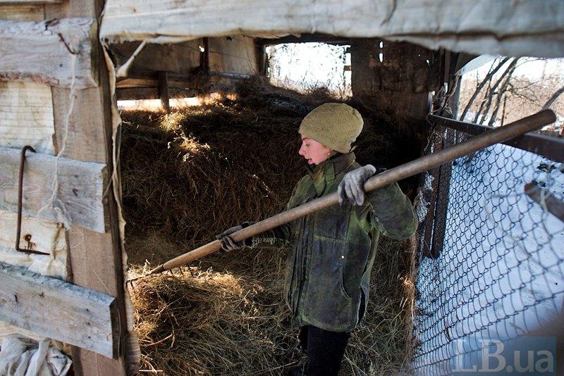 Переселенці з Дебальцево у Луганському
