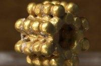 В Иерусалиме девятилетний мальчик нашел золотое украшение, которому 3 тысячи лет