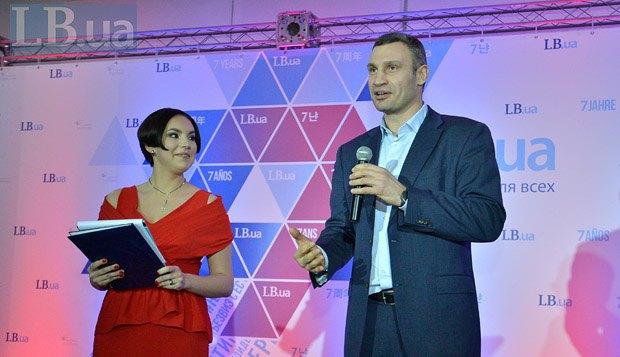 Виталий Кличко и Соня Кошкина