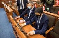 """Кличко показал Разумкову, как работает система """"Рада-4"""", которая не позволяет """"кнопкодавить"""""""
