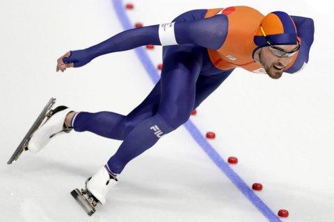 """Голландський ковзаняр Ньойс виграв """"золото"""" Пхьончхана на дистанції 1000 метрів"""