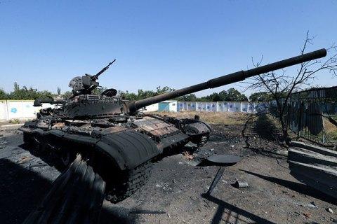 Бойовики почали сьогоднішню добу обстрілом з танків і гаубиць