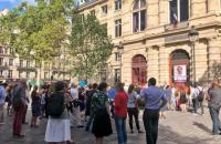 На здании мэрии Парижа вывесили портрет Сенцова