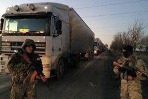 В Донецкой области задержали две фуры с контрабандным мясом