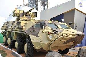 Забракованные Ираком БТР возвращаются в Одессу