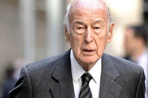 Помер колишній президент Францїі Жискар д'Естен