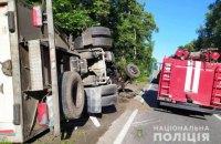 Четверо пасажирів легковика загинули під час зіткнення з вантажівкою у Вінницькій області