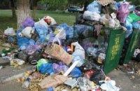 В Донецке из-за сепаратистов не вывозят мусор