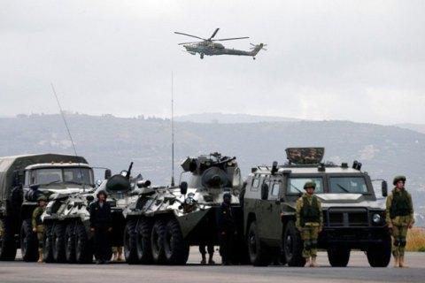 Троє російських військовослужбовців поранені в Сирії