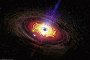 Ученые нашли следы вспышки черной дыры в центре Млечного пути