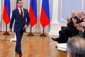 Медведев попрощался с чиновниками