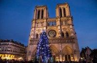Уперше за 200 років у Нотр-Дам де Парі скасували різдвяну месу