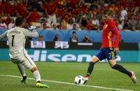 Испания первой на Евро-2016 забила больше двух голов в одном матче
