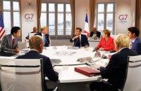 """Лідери країн """"Великої сімки"""" обговорили питання повернення Росії"""