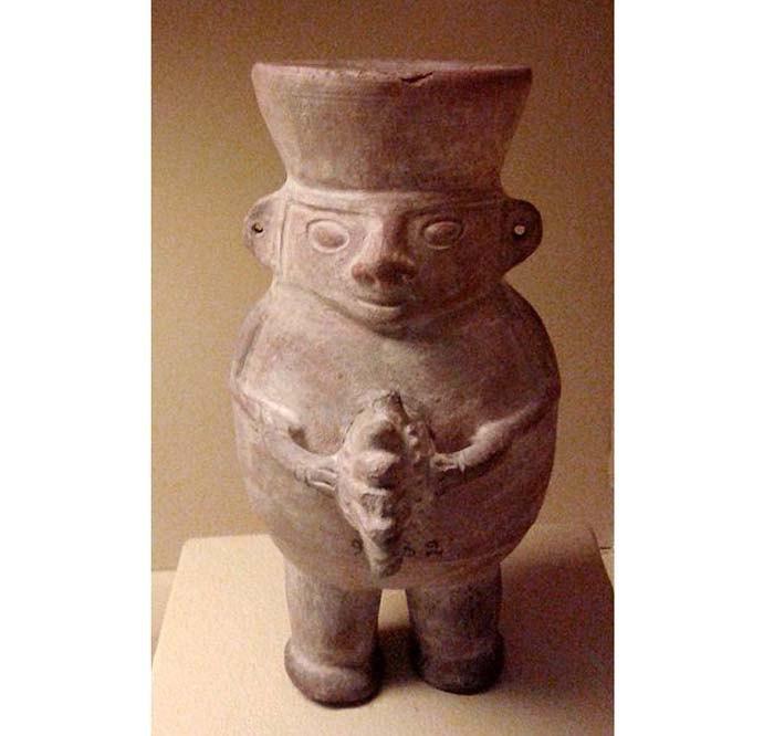 Антропоморфная скульптура культуры Уари, Перу, ок.500-1200 н.э.