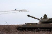 Біля Пісків окупанти стріляли з танків та артустановок