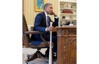 Турецьку опозицію обурила фотографія Обами з битою в руках