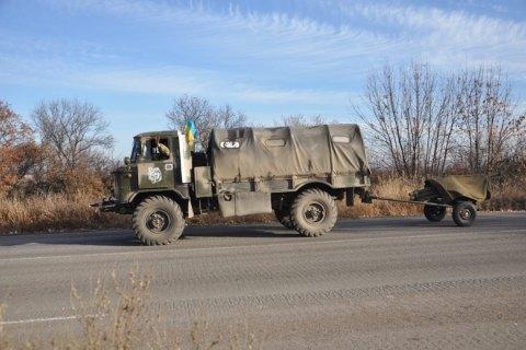 На Донецком направлении силы АТО отвели минометы калибром 82 мм