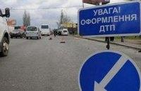 В Запорожской области перевернулся автобус с курортниками
