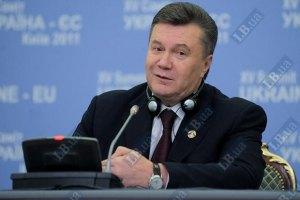 Янукович: давление на бизнес сократилось на 5,5%
