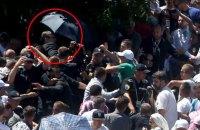 Прем'єра Сербії закидали камінням у Сребрениці