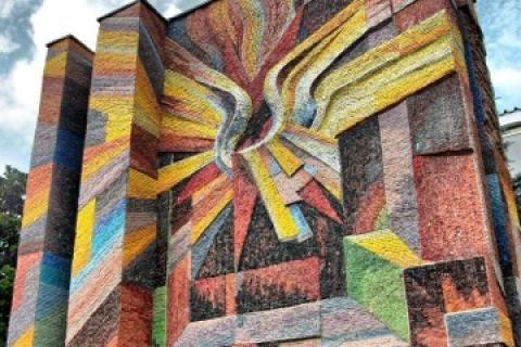 В Прилуках бульдозером уничтожили уникальную мозаику