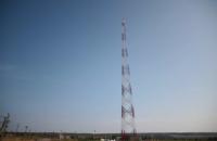 """""""Велике будівництво"""": на Луганщині запрацювала 150-метрова телевежа із сигналом на окуповані території"""